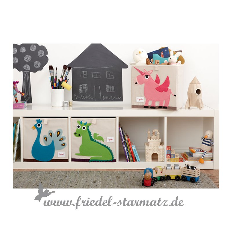 3 sprouts aufbewahrungsbox igel kindermode onlineshop. Black Bedroom Furniture Sets. Home Design Ideas