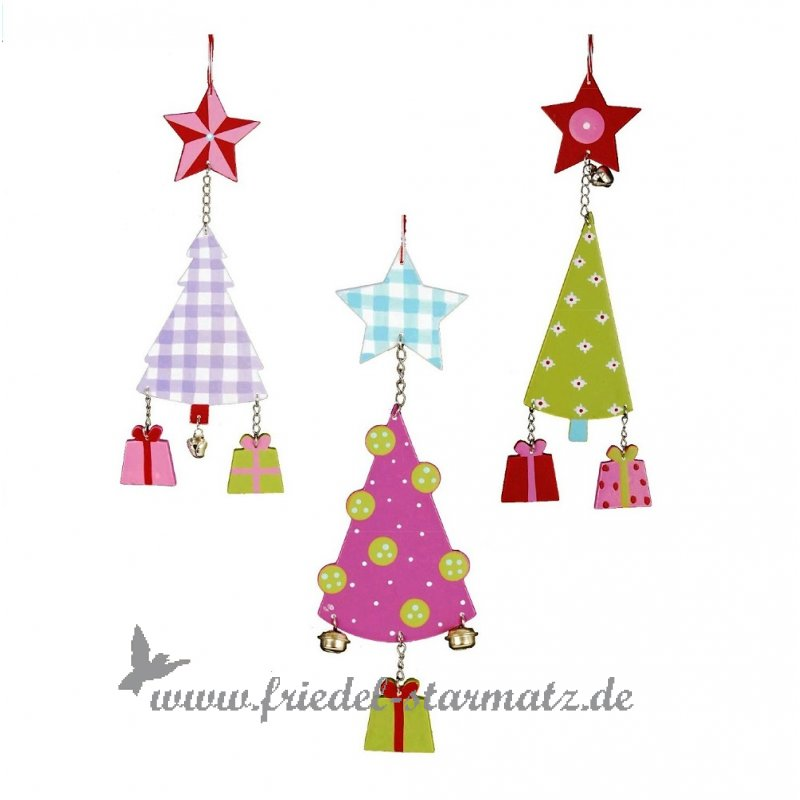 aspegren tannenbaum mit geschenk und gl ckchen aus holz. Black Bedroom Furniture Sets. Home Design Ideas
