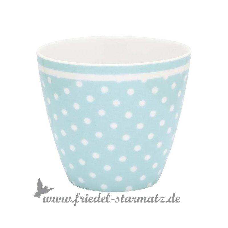 greengate latte cup spot l pale blue kindermode onlineshop friedel starmatz einrichtung. Black Bedroom Furniture Sets. Home Design Ideas