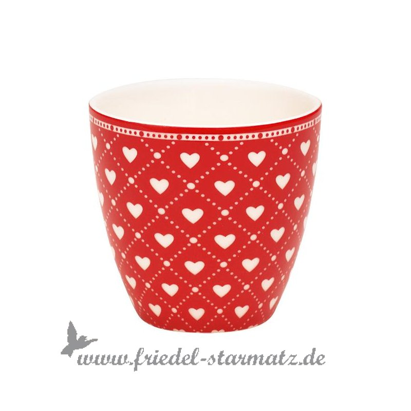 greengate latte cup mini haven l red kindermode onlineshop friedel starmatz einrichtung. Black Bedroom Furniture Sets. Home Design Ideas