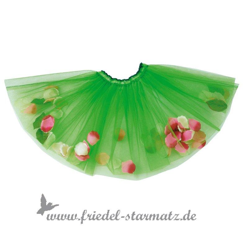 finest selection 524cd d554b Käthe Kruse - Tüllrock mit Blütenblätter/Grün