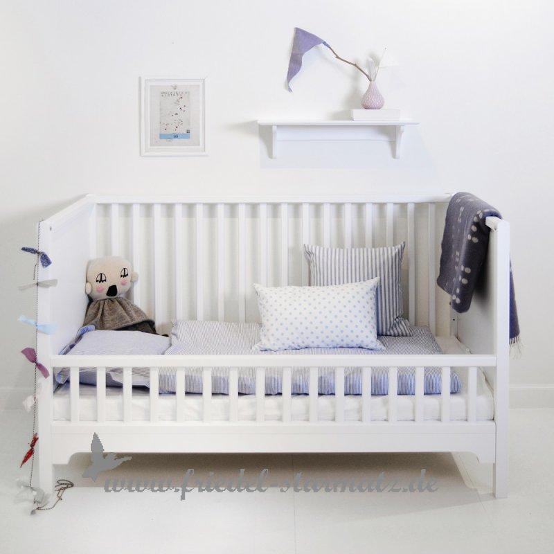 Kinderbett weiß 70x140  Oliver furniture - Seaside Baby-und Kinderbett, 70x140 cm l Weiss ...