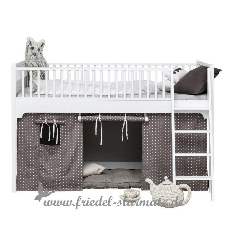 Oliver Furniture   Seaside Halbhohes Hochbett 90x200 Cm L Weiss