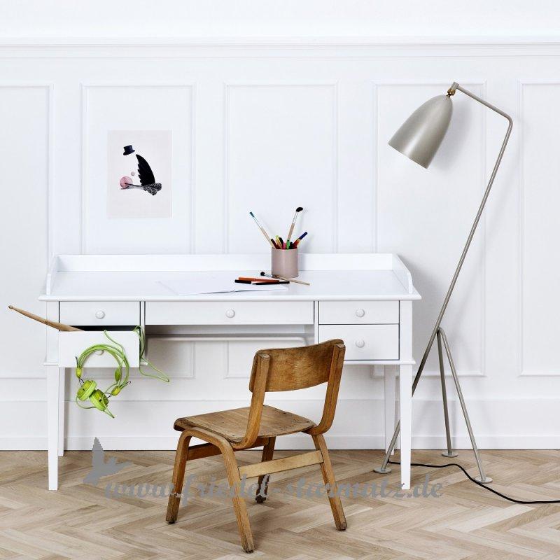 Schreibtisch Kind Weiß 2021