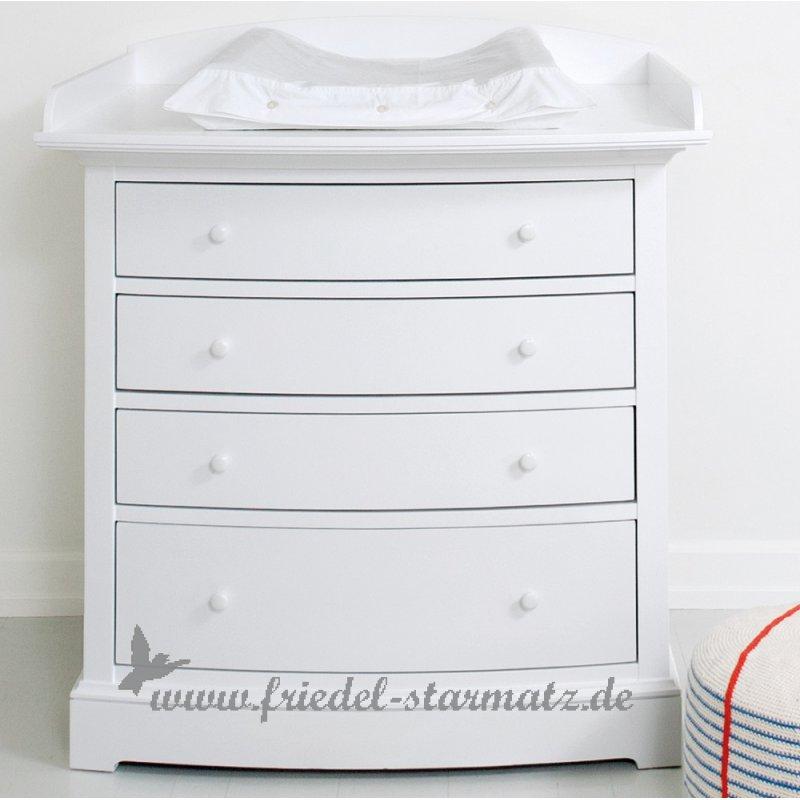 Oliver Furniture Seaside Wickelkommode L Weiss Kindermode