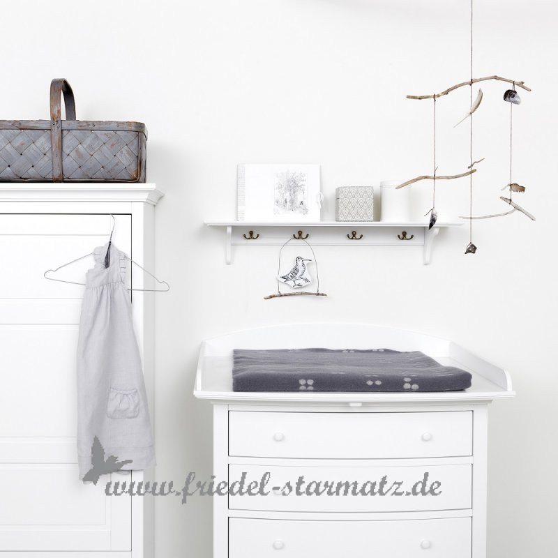 oliver furniture seaside wickelkommode l weiss kindermode onlineshop friedel starmatz. Black Bedroom Furniture Sets. Home Design Ideas