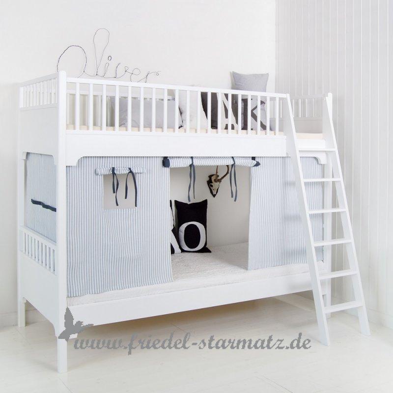 befestigung oliver furniture vorhang fr seaside halbhohes hochbettetagenbett inkl - Oliver Furniture Hochbett