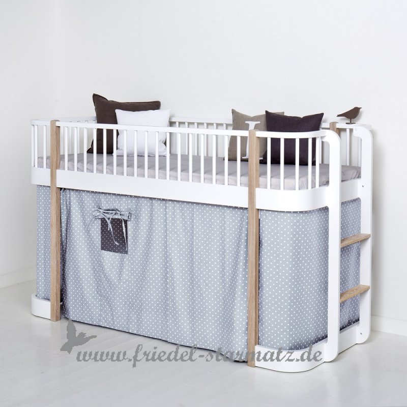 Oliver Furniture Wood Halbhohes Hochbett 90x200 Cm Kindermode