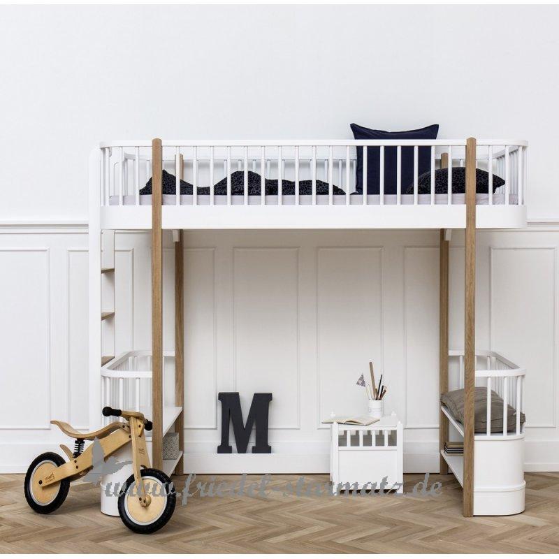 oliver furniture wood hochbett 90x200cm kindermode. Black Bedroom Furniture Sets. Home Design Ideas