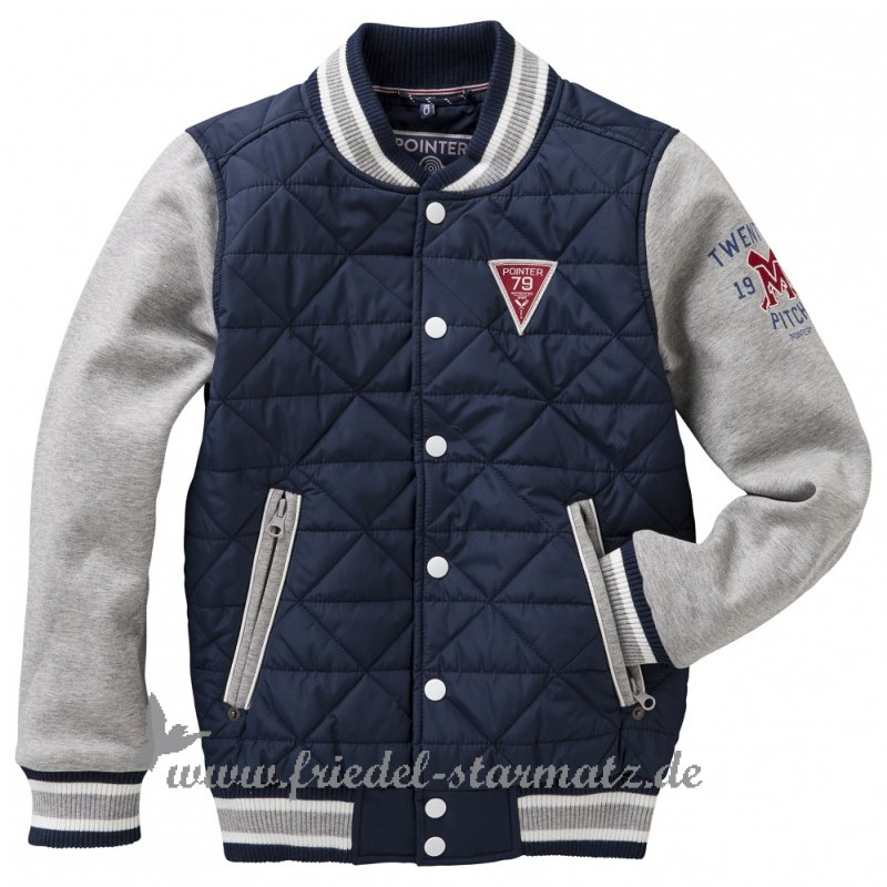 official photos 37ee3 17cab POINTER - Jungen College Jacke l Carbon