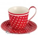 GREENGATE - Kaffeetasse SPOT l Red