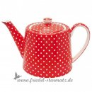 GREENGATE - Teekanne SPOT l Red