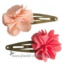 Maileg - Hair Clips, FLUFFY Flowers - 2 Stück l Rose