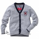 POINTER - Jungen CARDIGAN l Blue meliert