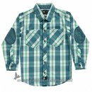 Phister & Philina - River boy shirt l Blue Mirage