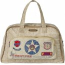 Room Seven - Diaper bag, vintage sand, badges l Sand
