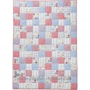 Room Seven - Quilt 110x150, patchwork boys l Blue