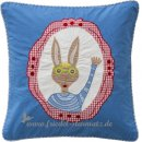 Room Seven - Kissenbezug Hase 40x40, Kissenhülle rabbit l...