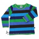 Smafolk - Baby Shirt, gestreift l Green 74
