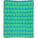 Smafolk - Wickelunterlage Changing Pad. Apples l Turquise/Green