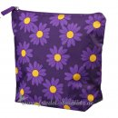 Smallstuff - Large Toiletbag, Purple Daisy