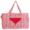 Win Green - Weekend Bag - Red Gingham