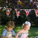 Win Green - Wimpelkette Bunting l Union Jack