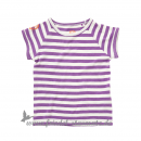 ej sikke lej - Basic Striped Slub,T-shirt l Dewberry Lilac
