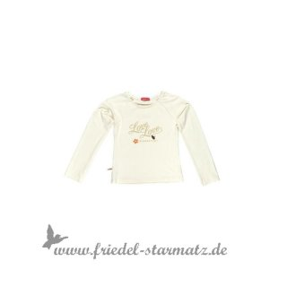 Kiezel-tje - Mädchen Shirt long sleeve l Off-White 146-152