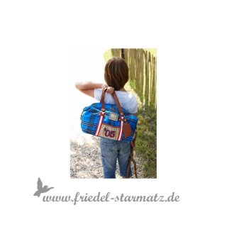 Lief! Post Package duffle bag cobalt l Blau