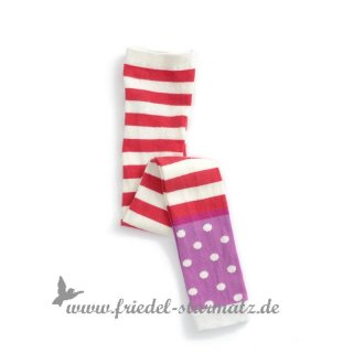 MP Socks - Legging Optical Stripe l Rot 140