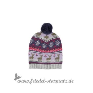 Phister & Philina - Warm mini hat l Night shadow