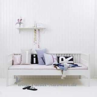 Oliver furniture - Seaside Bettsofa 90x200 cm l Weiss