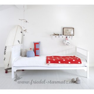 Oliver furniture - Seaside Einzelbett 90x200 cm l Weiss