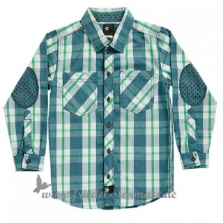 Phister & Philina - River boy shirt l Blue Mirage 110