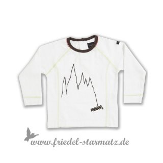 Racoon - Mountain baby boy top l WHI