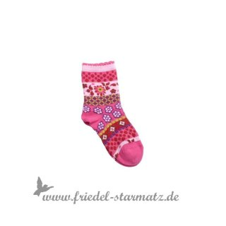 MP Socks - Anklesock Wild Winter l Pink 29-32