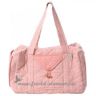 Win Green - Weekend Bag - Rose Mini-Gingham
