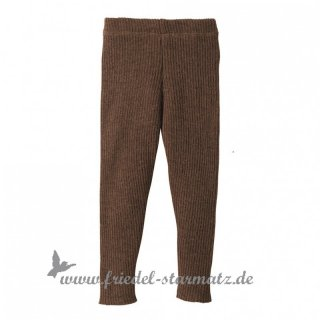 disana - Strick-Legging l Schoko